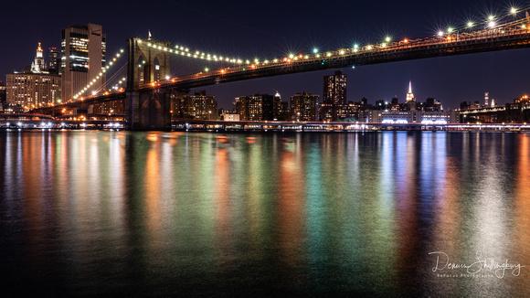 Brooklyn and Manhattan Bridges 16x9 resolution