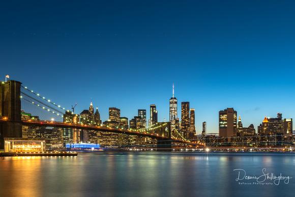 Brooklyn Bridge and New York Skyline any 8x12 300 dpi resolution.